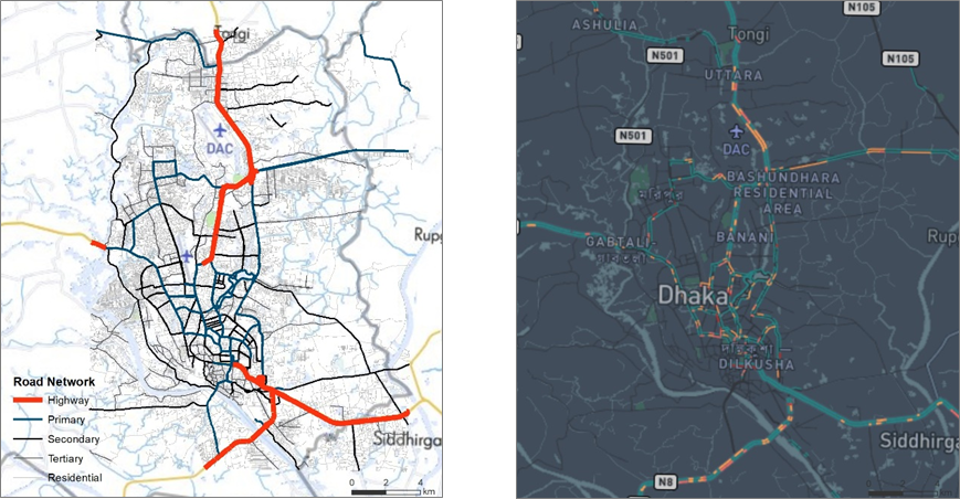 Mapbox Dhaka analysis
